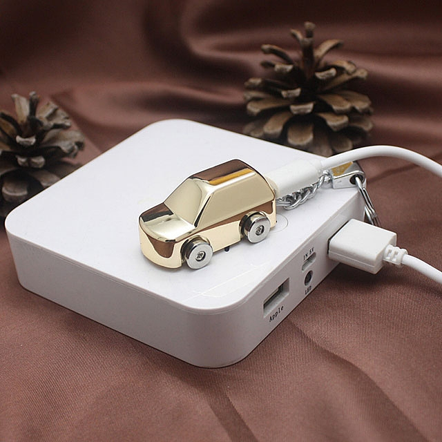 USB Mini Car Lighter Keychain