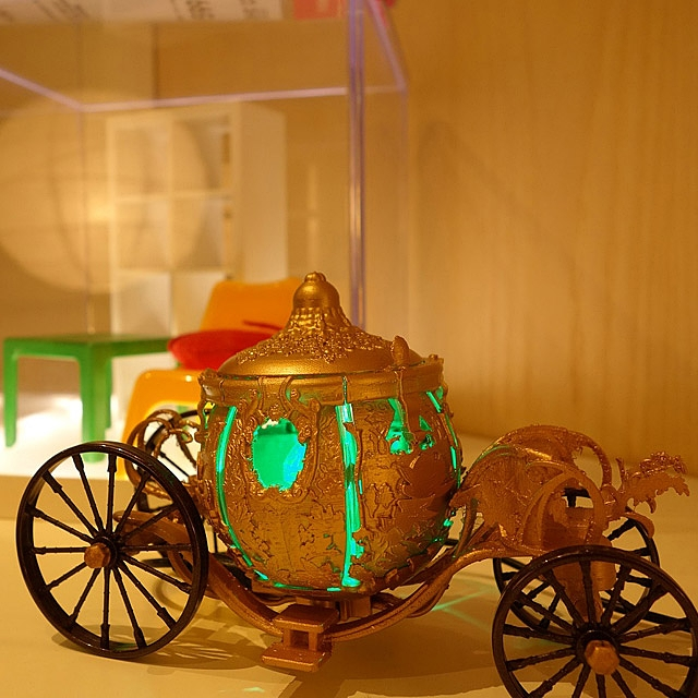 infoThink Cinderella - Carriage USB LED Lamp
