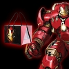 infoThink Marvel Iron Man - Hulkbuster USB Remote Control Power Lamp