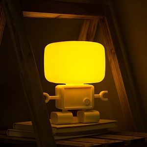USB Sound-Sensitive Robot Lamp