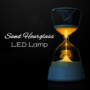 Sand Hourglass LED Lamp