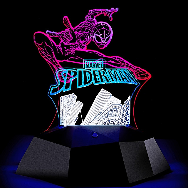 infothink Spider Man 3D Line Lamp