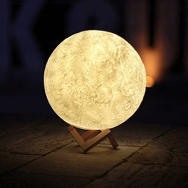 3D Moon USB Lamp