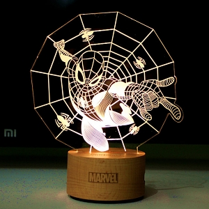 Spider-Man Line Lamp
