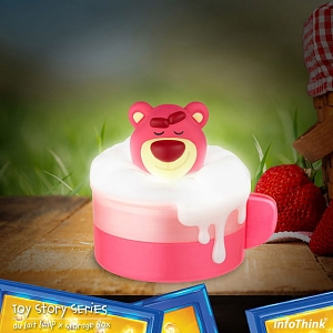 infoThink Disney Au Lait Lamp with Storage Box - Lotso