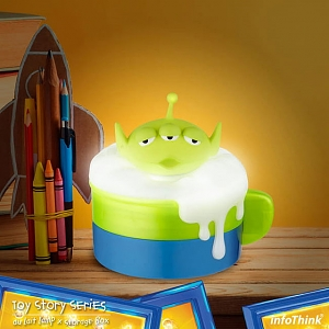 infoThink Disney Au Lait Lamp with Storage Box - Alien