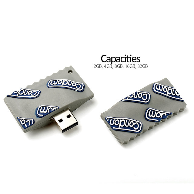 USB Condom Flash Drive