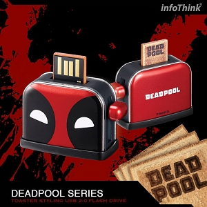 infoThink Deadpool 2 - Toaster Styling USB Flash Drive