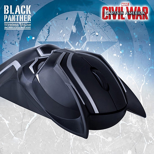 Black Panther Wireless Mouse