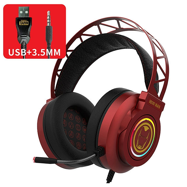 Marvel Series USB Gaming Headphone