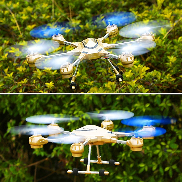 HJ818 Pathfinder 2 4.5 Channel Alloy 6-Axis Hexacopter