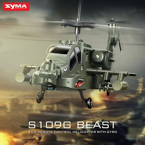 Syma S109G Beast 3.5 Channel RC Helicopter with Gyro