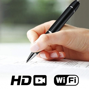 HD Wi-Fi Spy Pocket Video Audio Recorder Pen