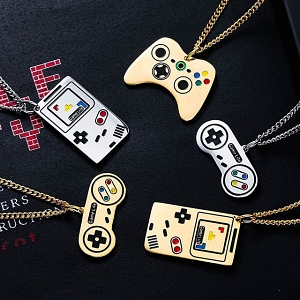 Retro Game Machine Necklace
