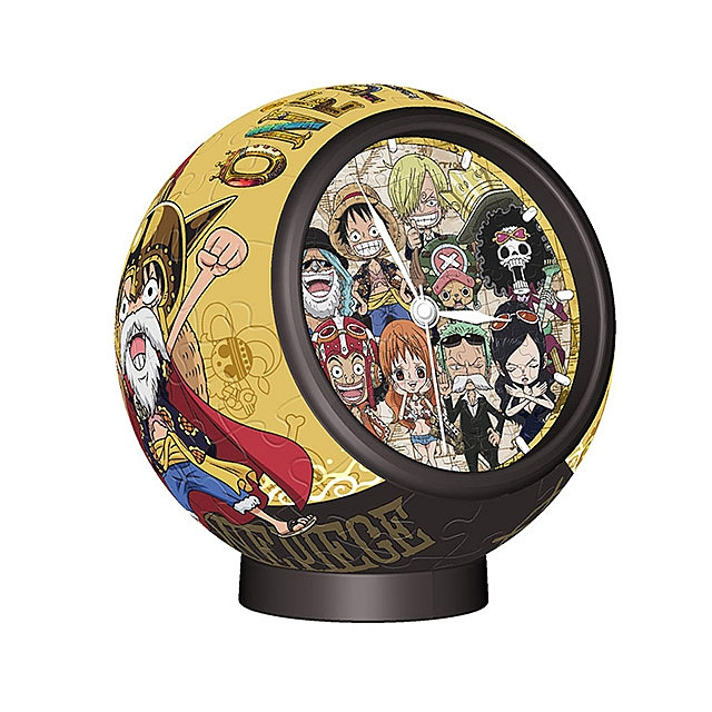 3D Puzzle Desktop Clock - One Piece