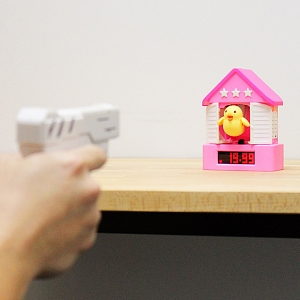 Bird House Alarm Clock